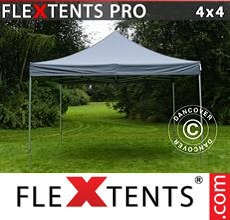 Carpa plegable FleXtents 4x4m Gris