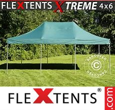 Carpa plegable FleXtents 4x6m Verde