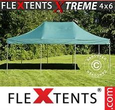 Carpa plegable FleXtents 4x6m Verde