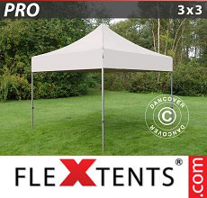 Carpa plegable FleXtents 3x3m Latte