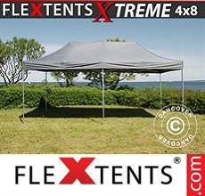 Carpa plegable FleXtents 4x8m Gris