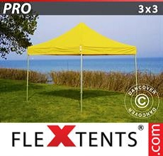 Carpa plegable FleXtents 3x3m Amarillo