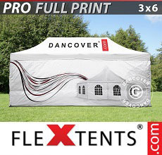 Carpa plegable FleXtents 3x6m,