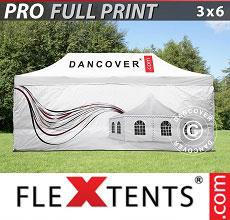 Carpa plegable FleXtents 3x6m,