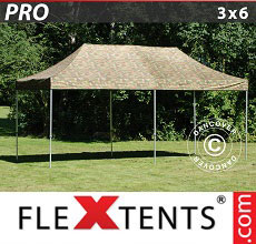 Carpa plegable FleXtents 3x6m Camuflaje