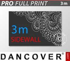 Muro lateral impreso de 3m para FleXtents PRO