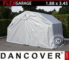Garaje Plegable (MC), 1,88x3,45x1,9m, Gris