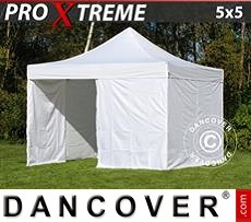 Flextents Carpas Eventos 5x5m Blanco, Incl. 4 lados