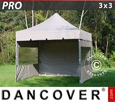 Flextents Carpas Eventos 3x3m Latte, incl. 4 lados