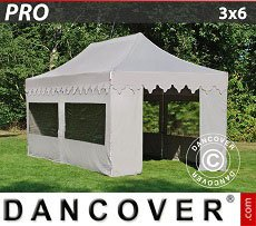 Flextents Carpas Eventos 3x6m Latte, incl. 6 lados