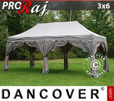 Flextents Carpas Eventos 3x6m Latte/Naranja