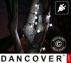 Guirnalda de luces LED, parpadeantes, 10m, Blanco Frío