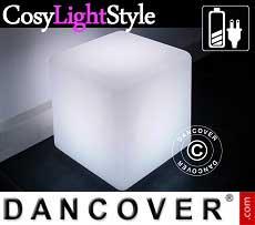 Cubo de luz de LED, 50x50cm, Multifunción, Multicolor