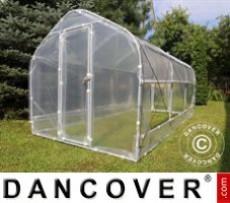 Invernadero de policarbonato, Strong 18m², 3x6m, Plateado