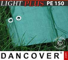 Lona impermeable 10x20m, PE 150g/m², Verde