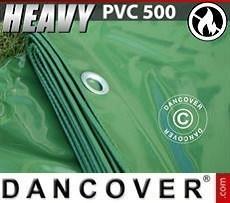 Lona impermeable 8x10m, PVC 500g/m², Verde