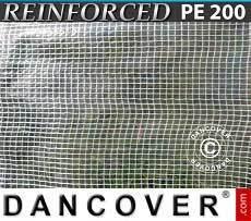 Lona impermeable 6x10m, PVC 570g/m², Verde