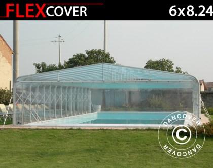 garage, box auto tunnel, box auto, tunnel, tunnel di copertura pieghevole per piscine, tunnel di copertura per piscine, coperture per piscina, coperture, copertura, Dancover