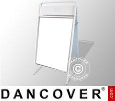 Cavalletto pubblicitario, 58x111cm, Bianco