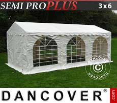 Tendoni Gazebi Party SEMI PRO Plus 3x6m PVC, Bianco