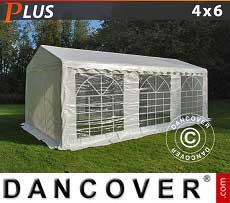Tendoni Gazebi Party PLUS 4x6m PE, Bianco