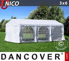 Tendoni Gazebi Party UNICO 3x6m, Bianco