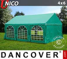 Tendoni Gazebi Party UNICO 4x6m, Verde scuro