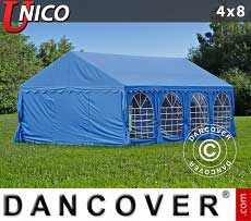 Tendoni Gazebi Party UNICO 4x8m, Blu