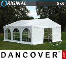 Tendoni Gazebi Party Original 5x6m PVC, Bianco