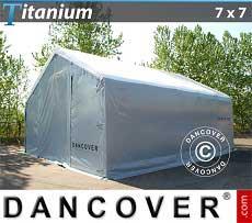 Capannone tenda di deposito Titanium 7x7x2,5x4,2 m
