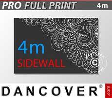 Pareti laterali stampate 4m per FleXtents PRO