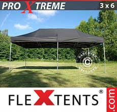 Tenda per racing Xtreme 3x6m Nero