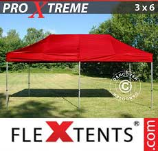 Tenda per racing Xtreme 3x6m Rosso