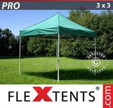 Tenda per racing PRO 3x3m Verde