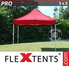 Tenda per racing PRO 3x3m Rosso