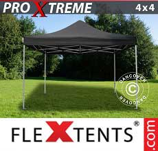 Tenda per racing Xtreme 4x4m Nero