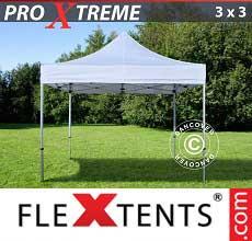 Tenda per racing Xtreme 3x3m Bianco