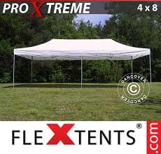Gazebo pieghevole  Xtreme 4x8m Bianco