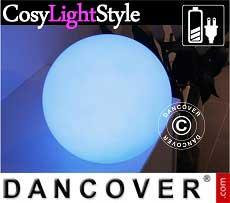 Sfere a luce LED, Ø20cm, multifunzione, multicolore