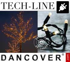 Modulo catena LED Tech-line, 4,5m, Bianco caldo