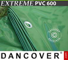 Telo 6x10m PVC 600g/m² Verde