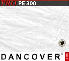 Telo 6x14m PE 300 g/m² Bianco