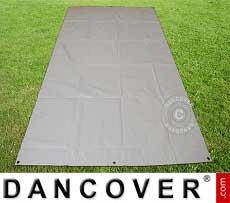 Copertura terreno 5,5x8,5m PVC grigio