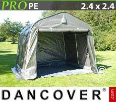 Tenda magazzino PRO 2,4x2,4x2m, con pavimento