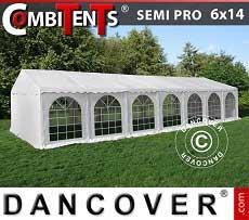 Tendone per feste, SEMI PRO Plus CombiTents® 6x14m, 5 in 1