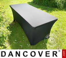 Copri-tavolo elasticizzato, 200x90x74cm, Noir