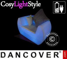 Poltrona lounge LED, Chill, 117x88x68cm