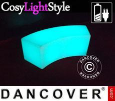 Divano a LED Glow 120x43x43cm