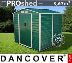 Casetta da giardino 2,13x1,91x1,90m ProShed, Verde