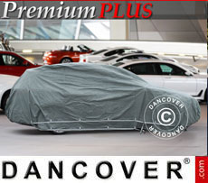 Copriauto Premium Plus, 4,92x1,88x1,52m, Grigio